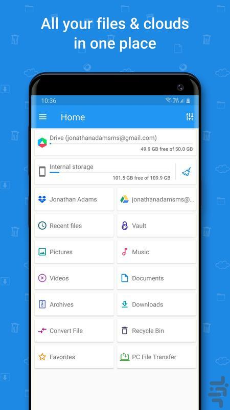 File Commander Full Version Key - Image screenshot of android app