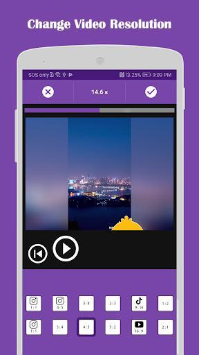 Video Editor: Square Video & Photo Slideshow - عکس برنامه موبایلی اندروید