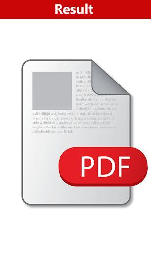 Word to PDF Convertor - عکس برنامه موبایلی اندروید