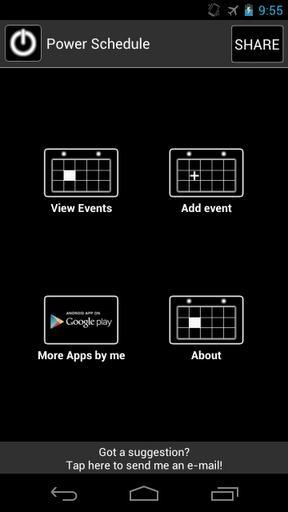 Power Schedule - عکس برنامه موبایلی اندروید