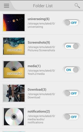 Nomedia - عکس برنامه موبایلی اندروید