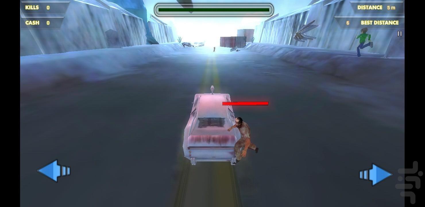 بن تن راننده فرازميني - عکس بازی موبایلی اندروید