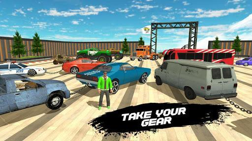 Double Impossible Mega Ramp 3D - Car Jump & Drift - عکس بازی موبایلی اندروید
