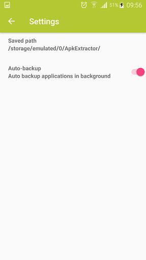 Apk Extractor - عکس برنامه موبایلی اندروید
