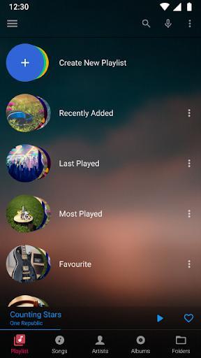 Music Player - عکس برنامه موبایلی اندروید