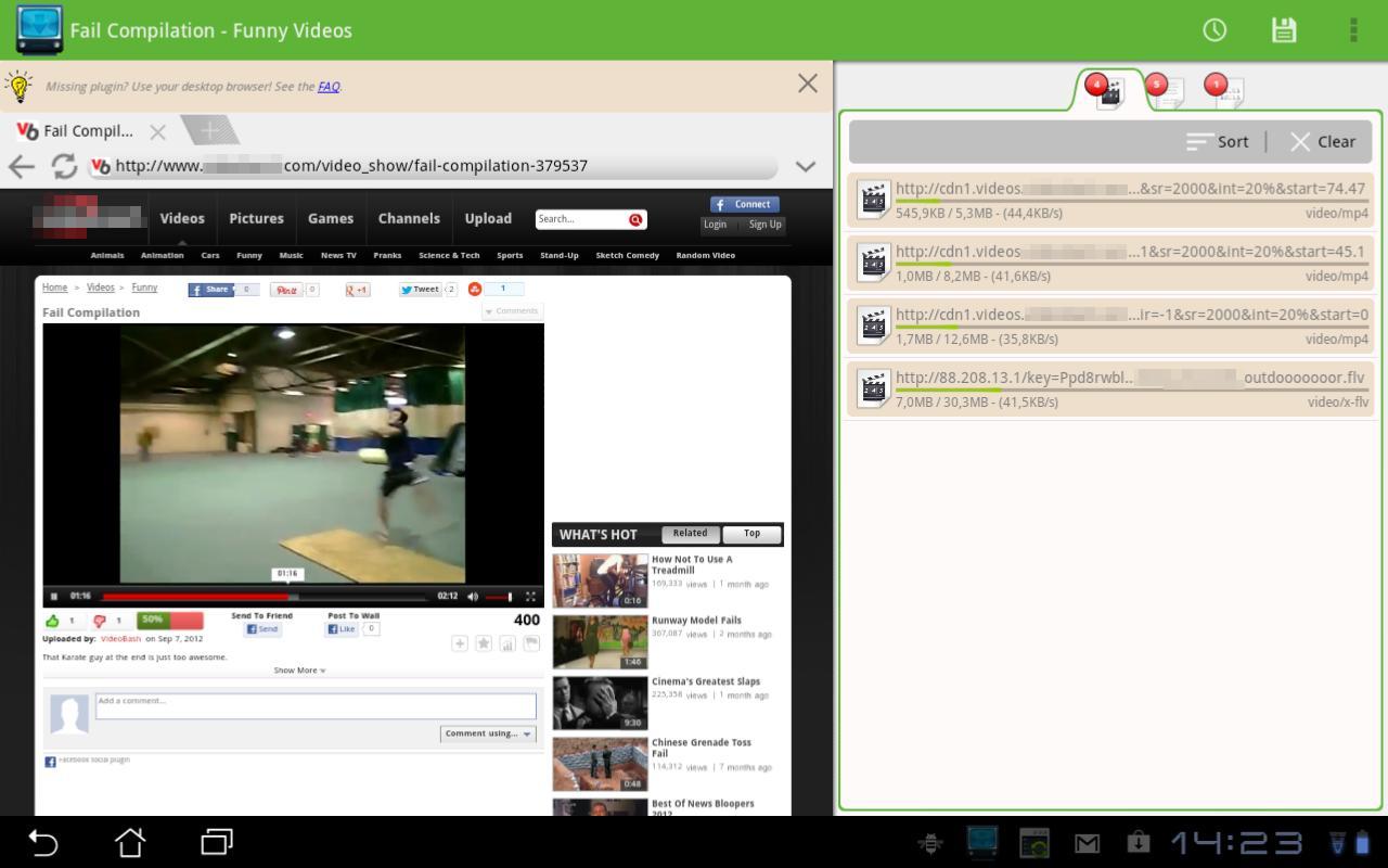 AVD Download Video - عکس برنامه موبایلی اندروید