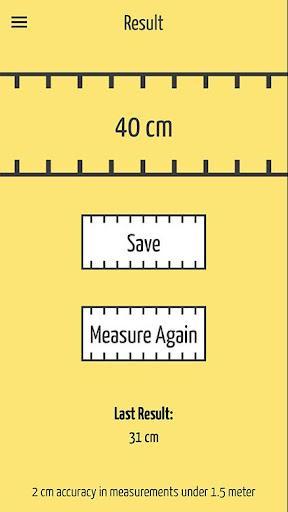 SizeUp – a Smart Tape Measure - عکس برنامه موبایلی اندروید
