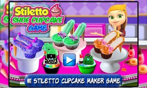 Stiletto Shoe Cupcake Maker - کفشهای کاپکیکی - عکس بازی موبایلی اندروید