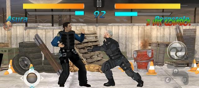 جنگجو تیکن - عکس بازی موبایلی اندروید
