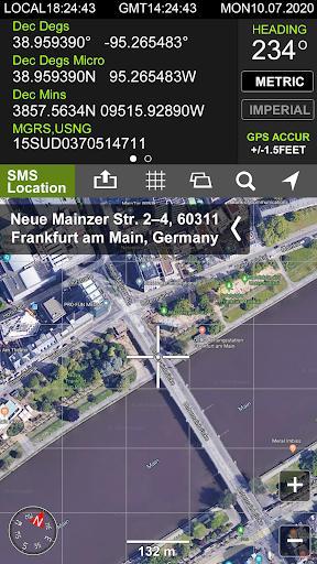 GPS Locations - عکس برنامه موبایلی اندروید