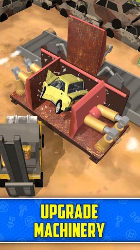 Scrapyard Tycoon Idle Game - عکس بازی موبایلی اندروید