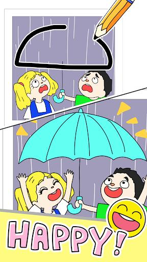 Drawing games-Draw Happy Life- - عکس بازی موبایلی اندروید