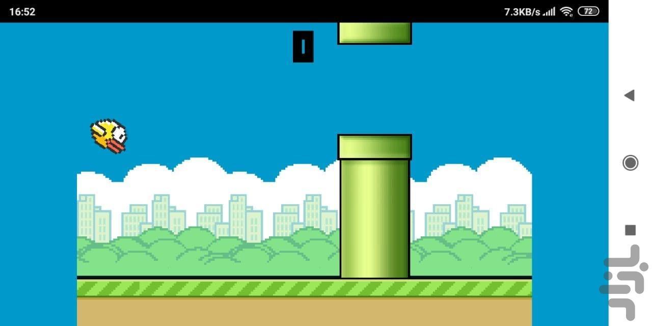 بازی پرنده ناشیانه - عکس بازی موبایلی اندروید