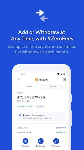 Nexo - Crypto Account - عکس برنامه موبایلی اندروید