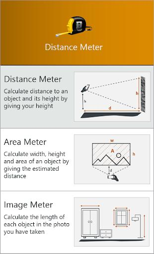 Distance Meter - Image screenshot of android app