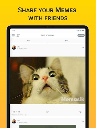 Memasik - Meme Maker Free - عکس برنامه موبایلی اندروید