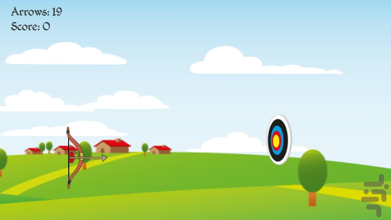 تیر و کمان - عکس بازی موبایلی اندروید