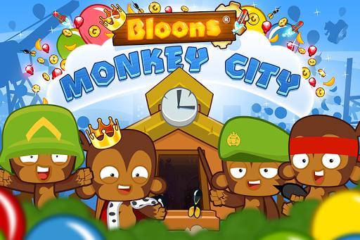 Bloons Monkey City - عکس بازی موبایلی اندروید