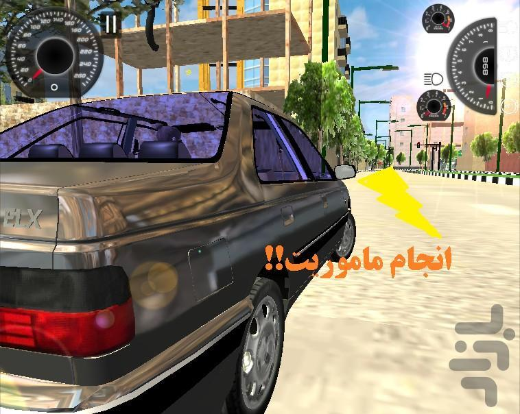 راننده پژو - عکس بازی موبایلی اندروید