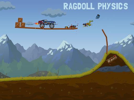 Zombie Road Trip Trials - عکس بازی موبایلی اندروید