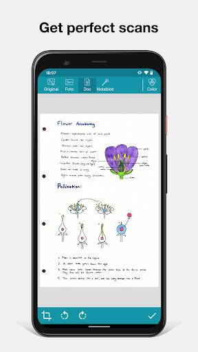 Notebloc Scanner App - Scan, save & share as PDF - عکس برنامه موبایلی اندروید