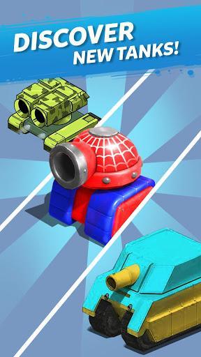 Merge Tanks: Awesome Tank Idle Merger - عکس بازی موبایلی اندروید