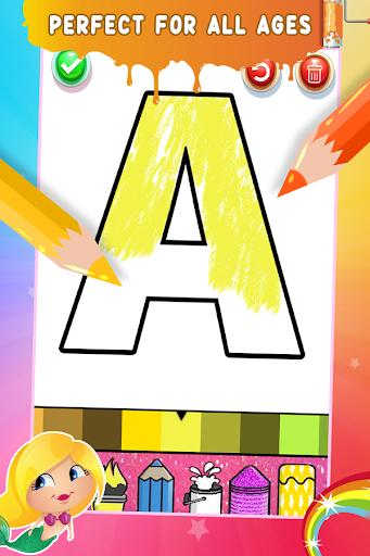 Glitter Number Coloring and Drawing Book - عکس برنامه موبایلی اندروید