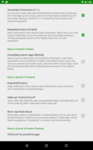 Greenify - عکس برنامه موبایلی اندروید