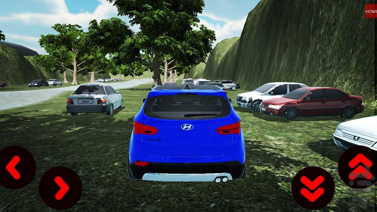 رانندگی در شمال - عکس بازی موبایلی اندروید