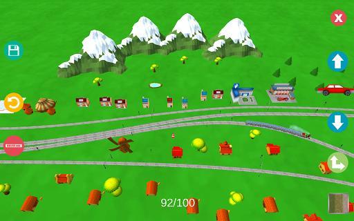 Kids Train Sim - عکس بازی موبایلی اندروید