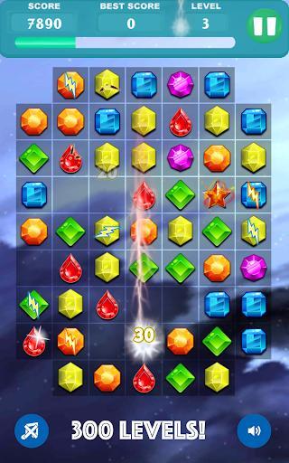 3 Jewels Deluxe - عکس بازی موبایلی اندروید