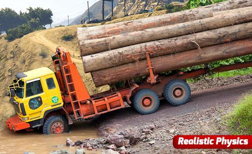 Future Truck Simulator : Hill Transport Driver - عکس بازی موبایلی اندروید
