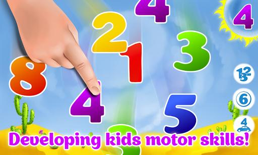 Learning numbers for kids - kids number games! 👶 - Gameplay image of android game