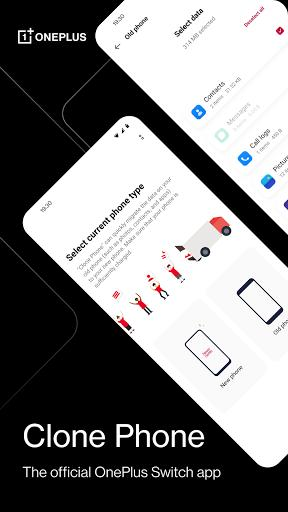 Clone Phone – The official OnePlus Switch app - عکس برنامه موبایلی اندروید
