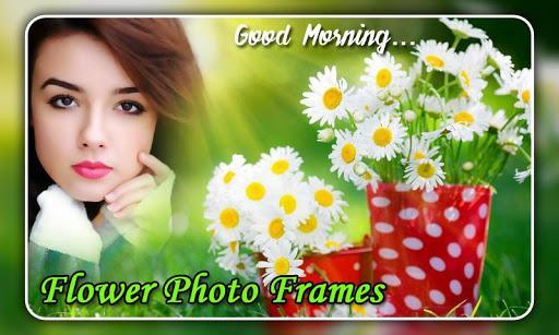 Flower Photo Frames - عکس برنامه موبایلی اندروید