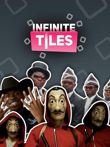 INFINITE TILES - Be Fast! - عکس بازی موبایلی اندروید