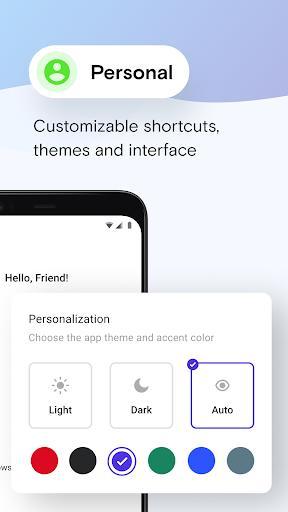 Opera Mini browser beta - عکس برنامه موبایلی اندروید