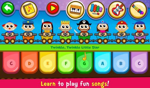 Piano Kids - Music & Songs – پیانو برای کودکان - عکس بازی موبایلی اندروید