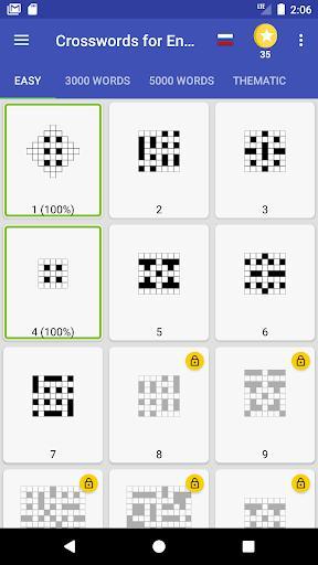 Crosswords: Learn English Words - عکس برنامه موبایلی اندروید