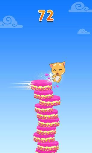 Talking Tom Cake Jump - عکس بازی موبایلی اندروید