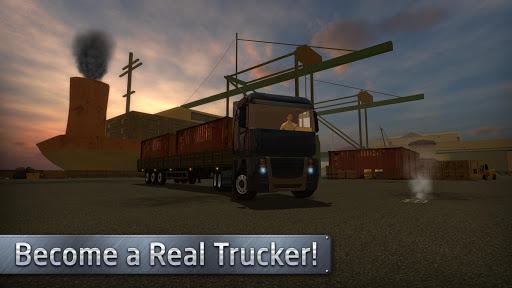Euro Truck Evolution (Simulator) - عکس بازی موبایلی اندروید
