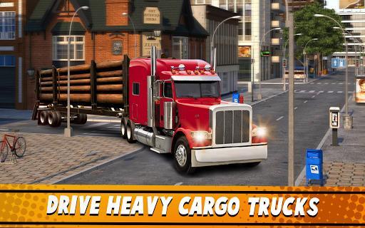 Euro Truck Simulator 2 : Cargo Truck Games - عکس بازی موبایلی اندروید