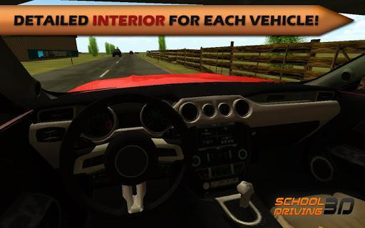 School Driving 3D - Gameplay image of android game