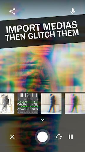 Glitch Video Effects - Glitchee - عکس برنامه موبایلی اندروید