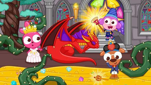 Papo Town Castle - عکس بازی موبایلی اندروید