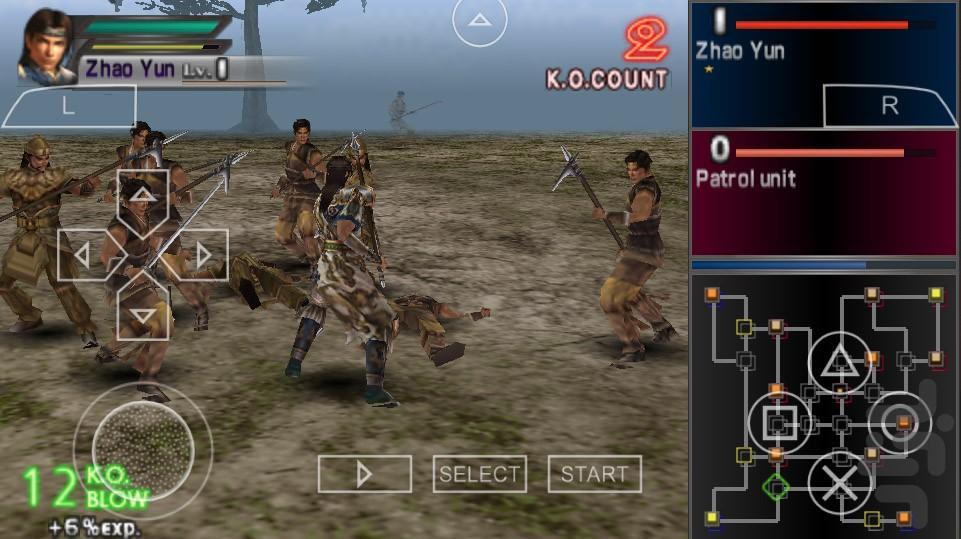 سلسله جنگجویان - عکس بازی موبایلی اندروید