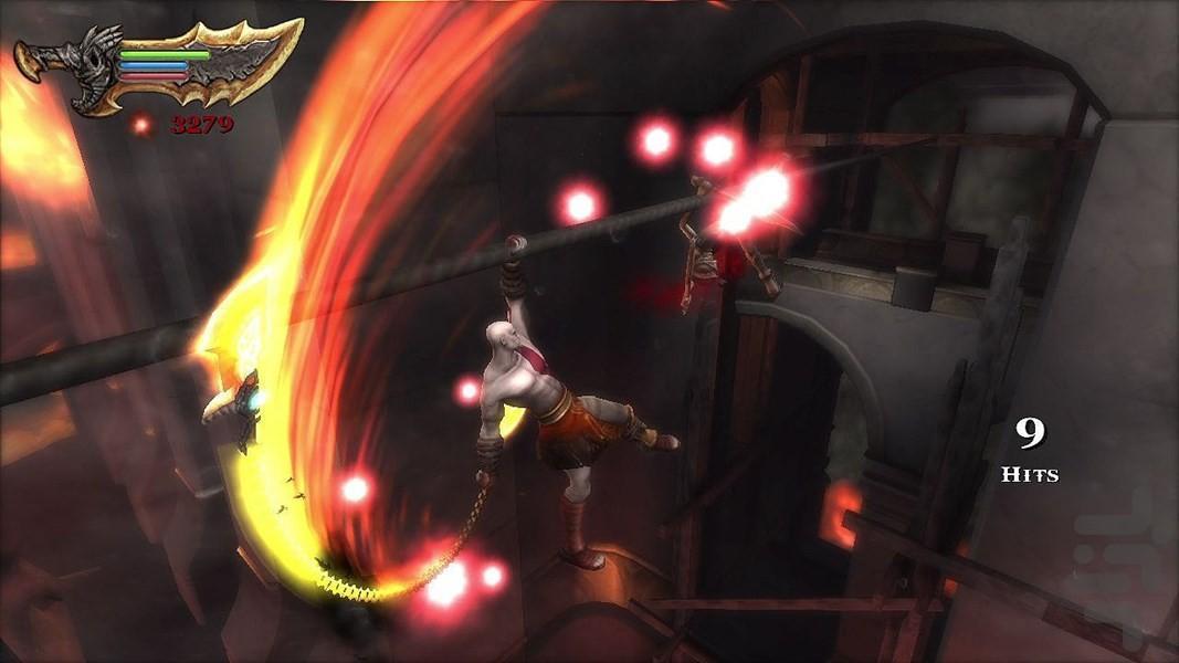 خدای جنگ: شبح اسپارتا - عکس بازی موبایلی اندروید