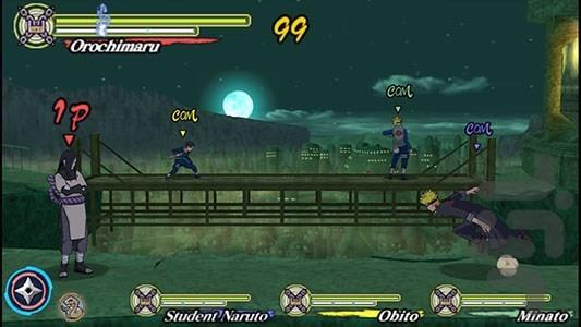 ناروتو: نینجاهای قهرمان ۳ - عکس بازی موبایلی اندروید
