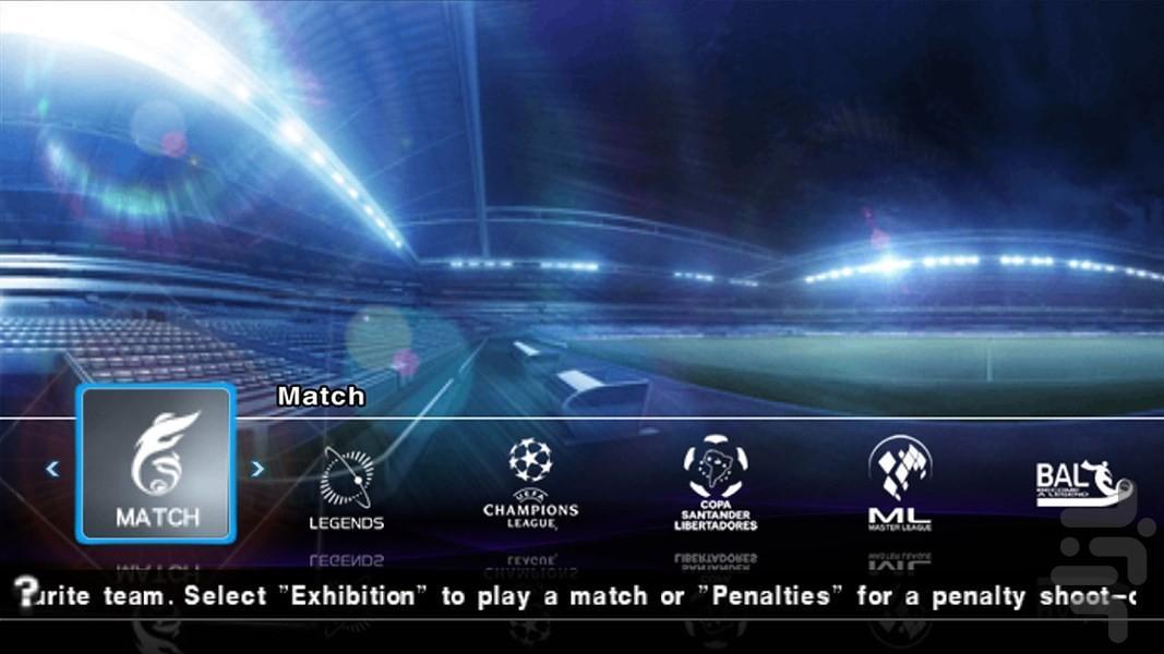 فوتبال حرفهای ۲۰۱۲ (PES 2012) - عکس بازی موبایلی اندروید