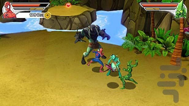 مرد عنکبوتی: دوست یا دشمن - عکس بازی موبایلی اندروید